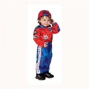 Race Car Driver Costume Baby