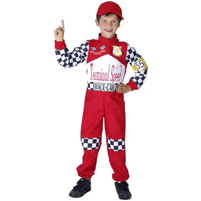 race car driver costume child