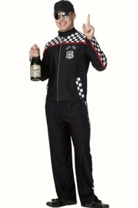 Race Car Driver Costume Male