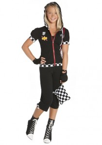 Race Car Driver Costume for Girls
