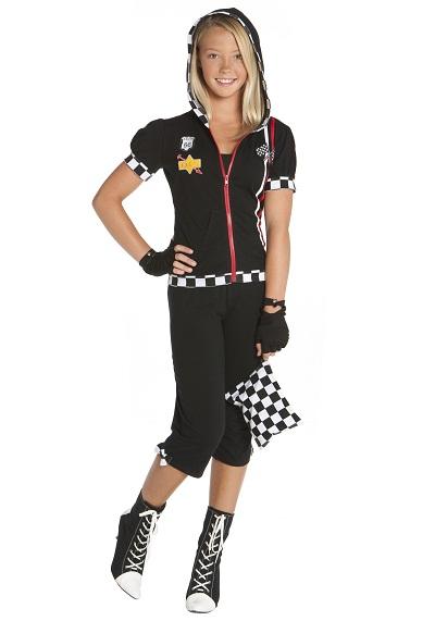 Race Car Girl Costume Diy