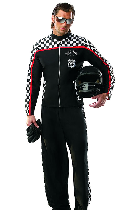 Girl Race Car Driver Halloween Costume