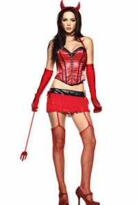 Red Corset Costume