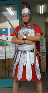 Roman Soldier Halloween Costume