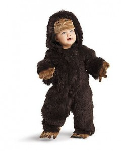 Sasquatch Costume for Kids