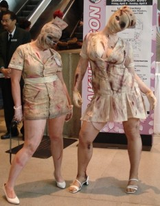 Silent Hill Nurse Costume Halloween