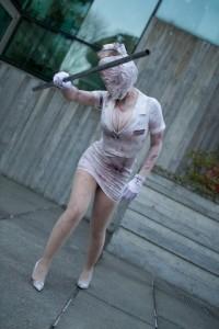 Silent Hill Nurse Costume Ideas