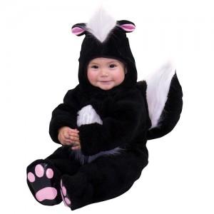 Skunk Baby Costume