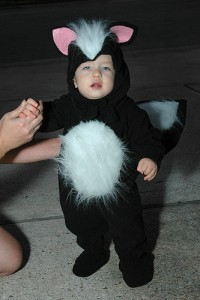 Skunk Costumes for Baby