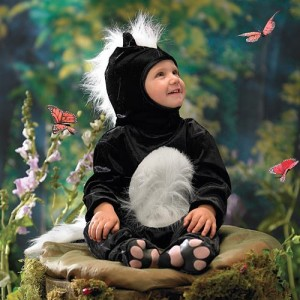 Skunk Costumes for Toddlers