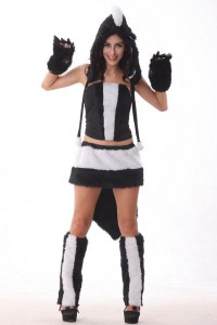 Skunk Costumes for Womens
