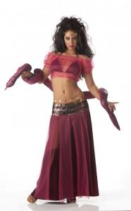 Snake womens Costume