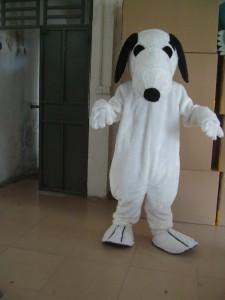 Snoopy Mascot Costume