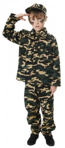 Soldier Costume for Boy