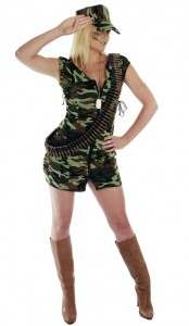 Soldier Costume for Girl