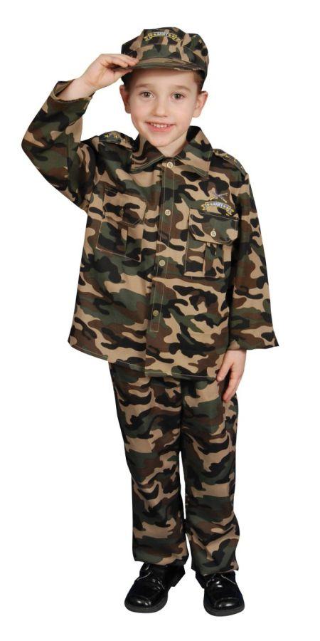 Камуфляжный костюм для мальчика своими руками