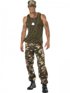 Soldier Costume for Men
