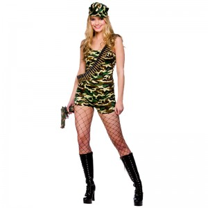 Soldier Costumes for Womens
