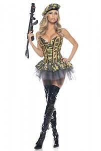 Soldier Halloween Costume