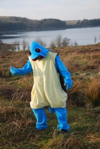 Squirtle Costume Women