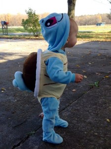 Squirtle Costume for Baby