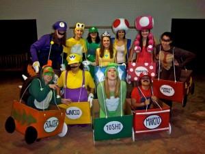 Super Mario Kart Costumes