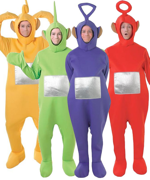 teletubbies costumes