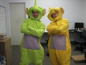 Teletubby Halloween Costume