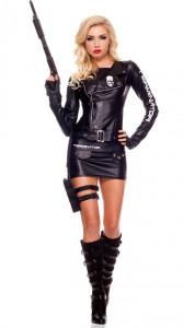Terminator Costume Woman