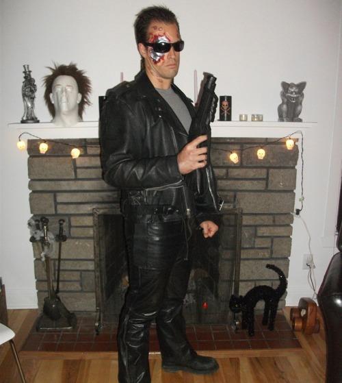 Terminator 3 Halloween Costume - Halloween Comstume