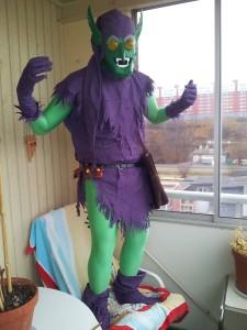 The Green Goblin Costume