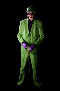 The Riddler Costume Suit