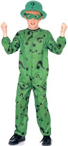 The Riddler Costume for Kids