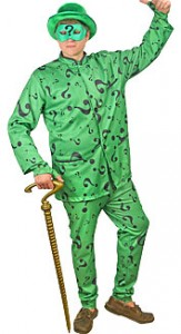 The Riddler Costume for Men