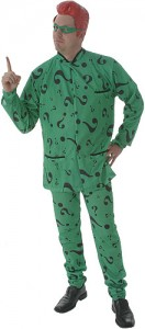 The Riddler Halloween Costume
