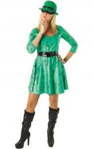 The Riddler Womens Costume