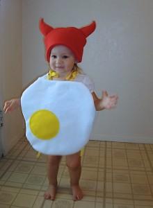 Toddler Egg Costume