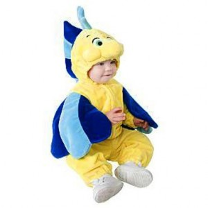 Toddler Flounder Costume