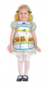 Toddler Goldilocks Costume