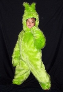 Toddler Grinch Costume