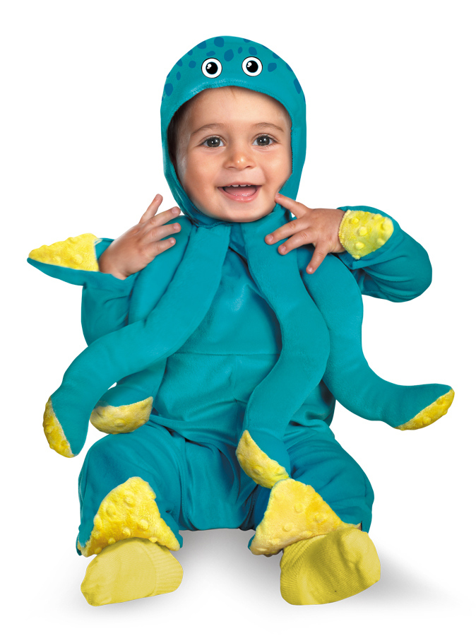 Halloween Octopus Costume