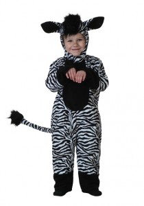 Toddler Zebra Costume