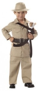 Toddler Zoo Keeper Costume