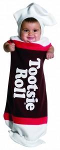 Tootsie Roll Baby Costume