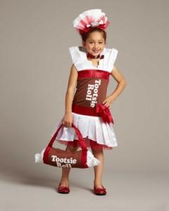 Tootsie Roll Costume Girls