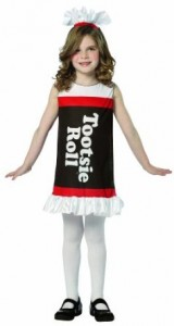 Tootsie Roll Costume for Kids