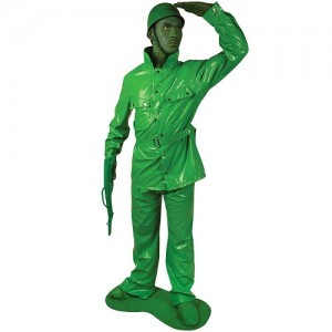 Toy Soldier Costume Men
