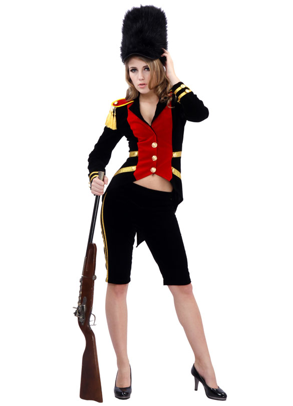 Sexy toy soldier