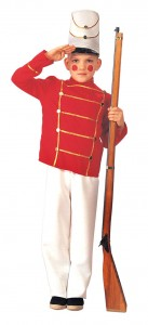 Toy Soldier Costume for Kids