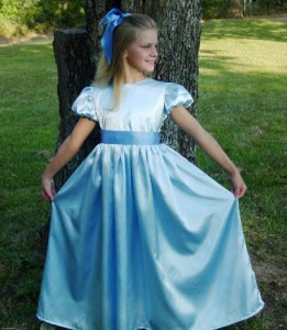 Wendy Darling Costume Pattern